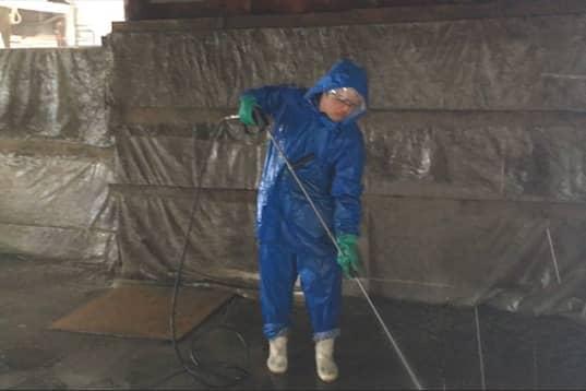 畜舎清掃・害獣対策